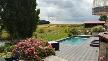 Beautiful equestrian property close to coulommiers