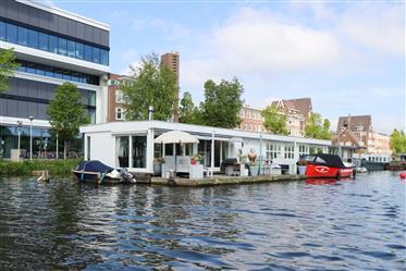 Villa acuática en el Amstel