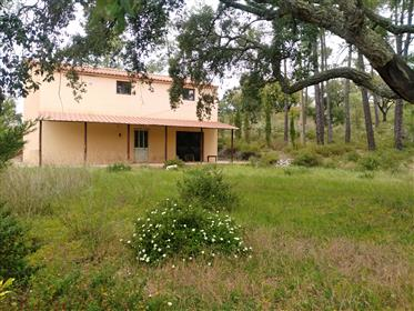 Country house with 6,872 sqm plot in a beautiful location with need for expansion