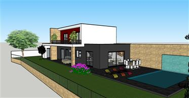 Μονή-Οικογενειακή κατοικία με τρία κύρια υπνοδωμάτια, γκαράζ...