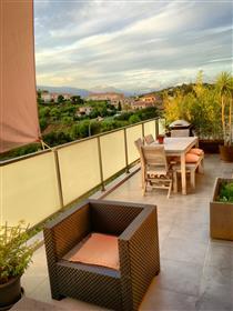 Villa 4P terraço no último piso