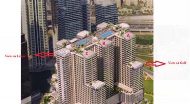 Luxury studio lakes views close to Dubai Marina