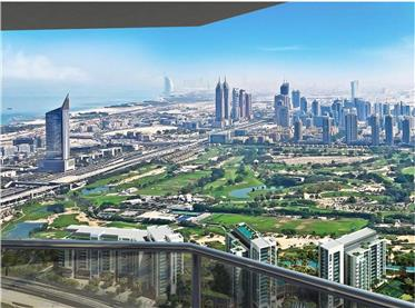 Fully furnished two bedroom lakes views in Jlt