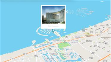 Fully furnished full sea view two bedroom in Palm Jumeirah