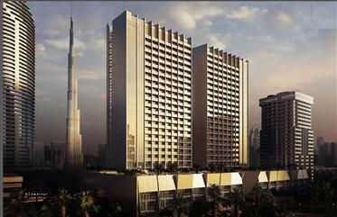 Fully Furnished studio Burj Khalifa Business Bay