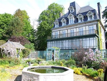 Manoir Sainte Cecile & Accommodation Business. Normandy