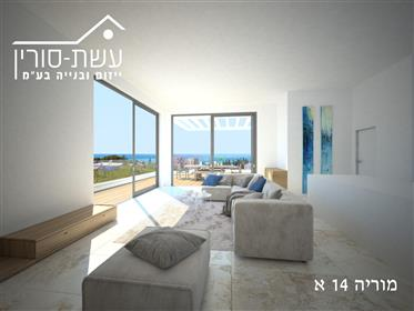 New penthouse, bright, spacious, and quiet, 149Sqm