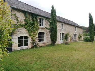 Renovated, former shepherd's house and swimming pool