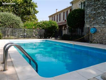 Mas De Village En Pierre With Pool - Sul da França- Calvisson (30420).