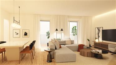 Apartmán se 2 ložnicemi s terasou a parkováním