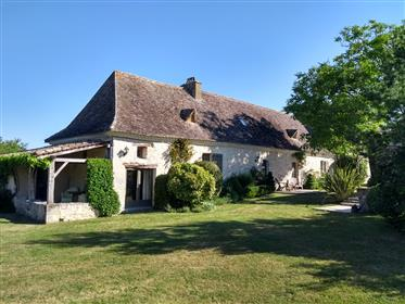 Beautiful country home with 2 pools, + additional 2 bedroom house and land.