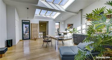 Chartron House 8 quartos 191m2 - 45m2 pátio e terraço