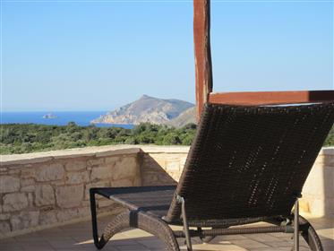 Chios Mastichoria (Patrika): greatest seaview in luxury stone house