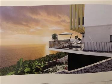 Fabelhafte 3 Betten Villa mit Meerblick auf Madeira