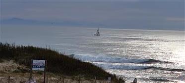 Vista para apartamento duplex Mar e Montanha