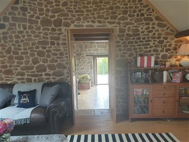 Beautiful converted barn with gite