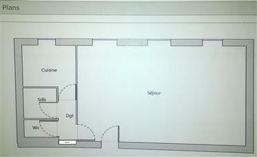 Appartamento arredato nel centro storico di Nyons