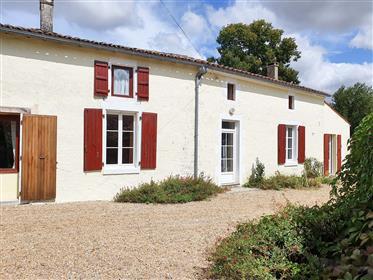 Deceptively spacious, 3+ bedroom, 2 bathroom, 3 reception room stone property, enclosed, easy mainte