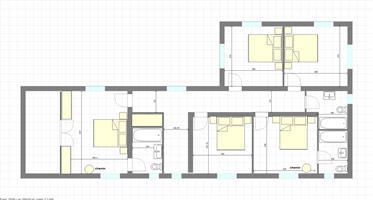 Maison avec un peu plus de 12ha de terrain