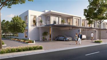 Modern house, 3 bedroom + maid room