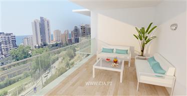 Novo empreendimento composto por apartamentos de tipologias T2, T3 e T4.