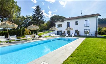 Booming holiday rental villa with pool in the north of Marche – 786