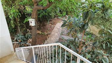 For Sale from owner - a big apartment in two-family house in Haifa, Israel