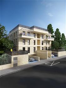 Новый и престижный жилой проект в Иерусалиме.