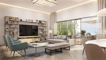 Новая квартира от подрядчика, 134 кв.м, в Раанане