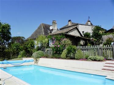 Maison 3 pièces avec piscine chauffée