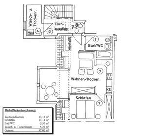 דירת 2 חדרים ידידותית להשכרה בעליית הגג