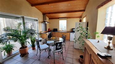 Casa de pueblo con patio a 10 minutos de Alès
