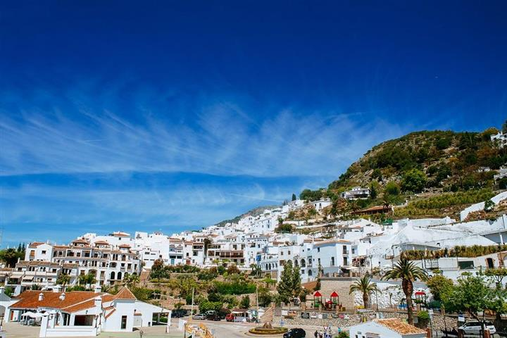 City of Frigiliana in Andalusia