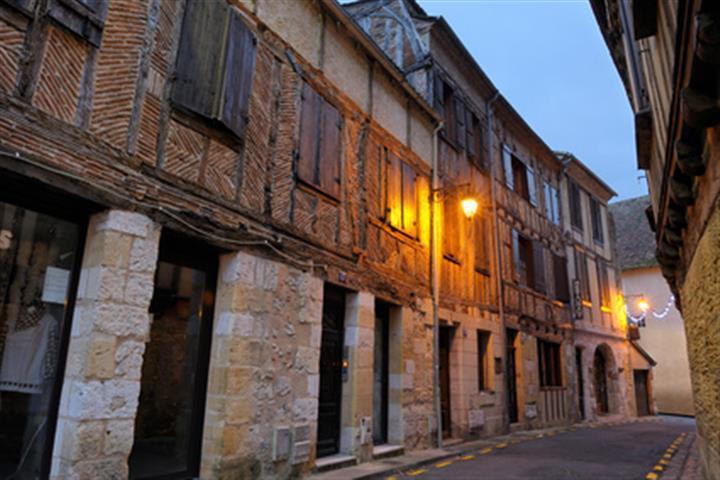 Maisons à Colombages à Bergerac, Aquitaine