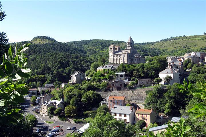 Village de Saint Nectaire, Puy de Dôme, France