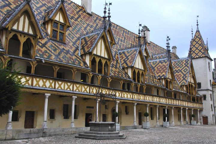 Hospices de Beaune en Bourgogne, France