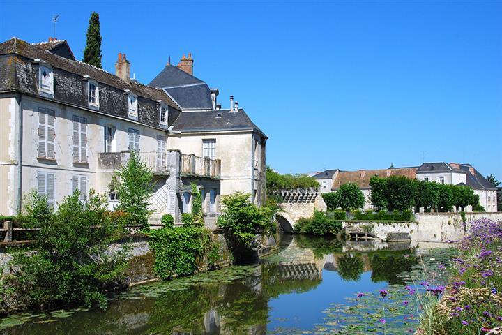 Le Loir à Vendôme, Loir-et-Cher