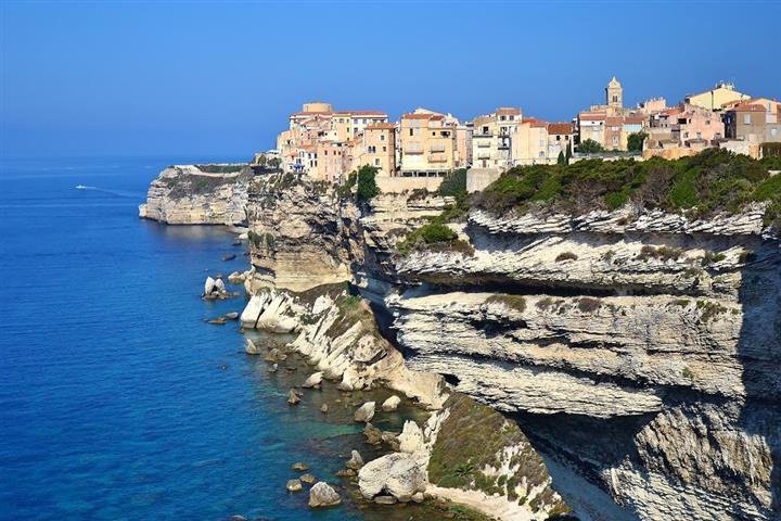 The old town of Bonifacio
