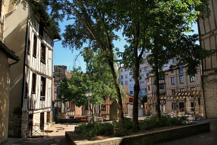 Vieux quartiers de la ville de Limoges