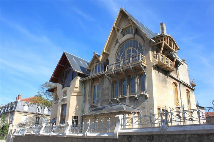 Art Nouveau style house, Nancy
