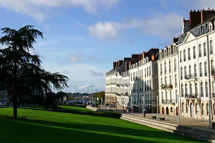 L'Ile Feydeau et ses anciennes demeures d'armateurs, Nantes