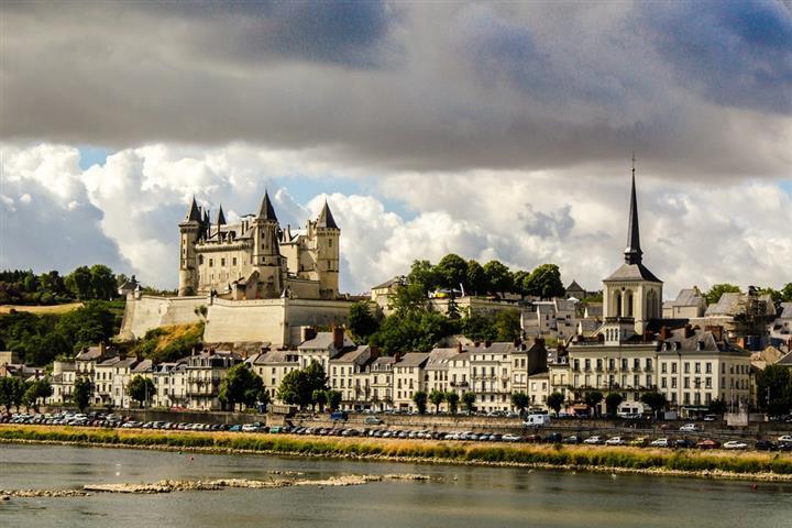 Bords de Loire à Saumur