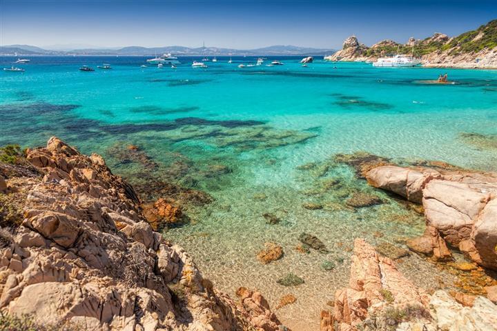 baie de Cala Corsara, Sardaigne
